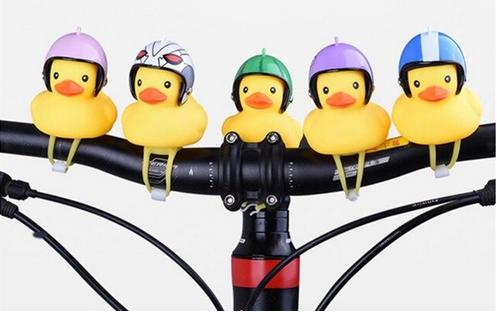 badeend fietslampjes