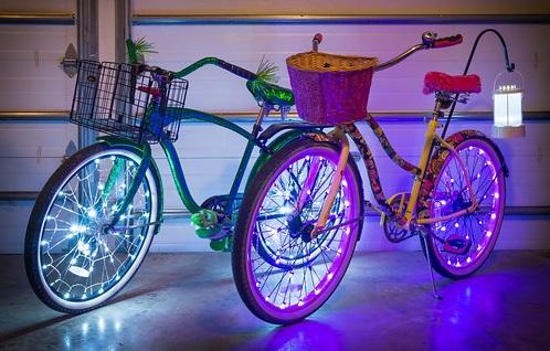 fietsdecoratie