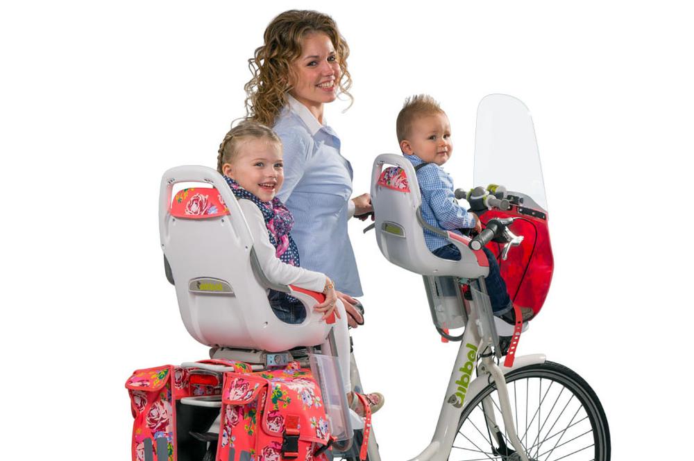 fietstassen combinatie kinderzitje