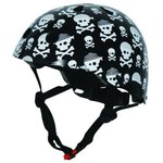 fietshelm skull zwart