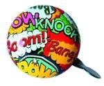 fietsbel stripverhaal cartoon tekstballon