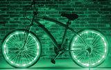 Fietswielverlichting LED groen (voor 1 fietswiel)_