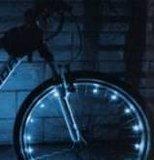 Fietsverlichting voor één wiel / fietswielverlichting_
