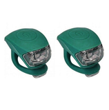 Urban Proof siliconen LED fietslampjes emerald_