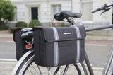 Dubbele fietstassen Bolzano zwart_