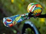 fietsdecoratie stripverhaal cartoon tekst ballon
