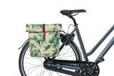 Dubbele fietstassen Basil Ever-Green sandshell beige_