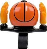 Funny fietsbel basketbal oranje_