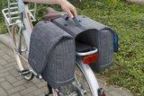 Afneembare fietstassen Avero zwart_