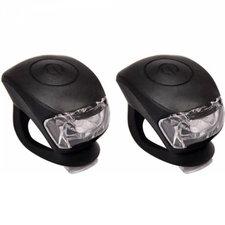 Urban Proof siliconen LED fietslampjes zwart