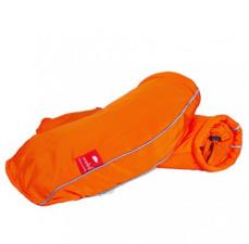 Fiets handwarmers Wobs oranje (handremversie)