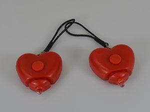 Fietslampjes in Hartvorm