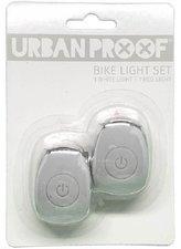 Urban Proof siliconen LED fietslampjes Light grey