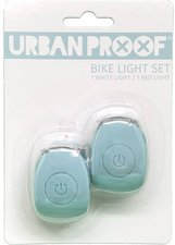 Urban Proof siliconen LED fietslampjes Vintage blue