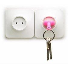 Qualy unplug sleutelhanger roze