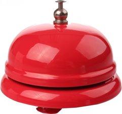 Fietsbel hotelbel rood