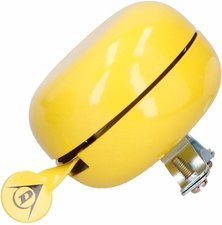 Dingdong fietsbel geel (8cm)