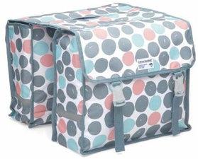 Fietstassen New Looxs dubbel Dots multicolor