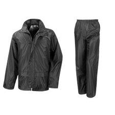 Regenpak zwart XL (maat 56)