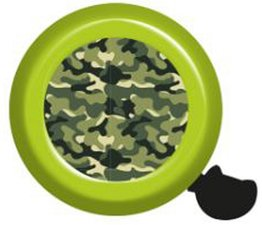 Fietsbel camouflage