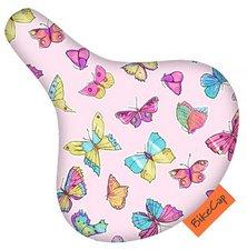 Zadelhoesje Bikecap vlinders roze
