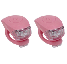 Urban Proof siliconen LED fietslampjes warm roze