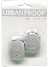 Urban Proof siliconen LED fietslampjes Light grey