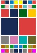 Fietsstickers gekleurde vierkantjes