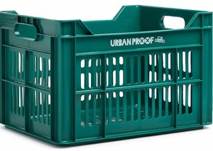 Urban Proof fietskrat emerald groen