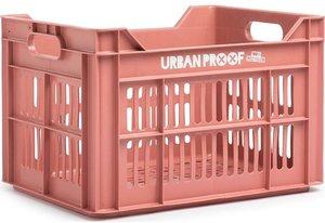 Urban Proof fietskrat roze (warm pink)