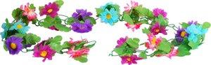 Bloemenslinger fietsslinger gekleurde bloemen