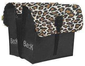 Fietstassen luipaard/panterprint (35 liter)