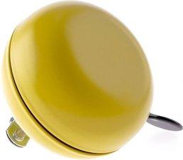 Dingdong fietsbel mat geel (8cm)
