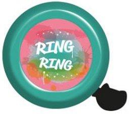 Fietsbel ring-ring turqoise