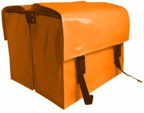 Fietstassen extra sterk oranje