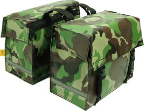 Fietstassen extra sterk camouflage