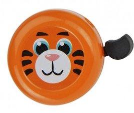 Fietsbel tijger oranje