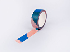 The Completist Masking tape Pink Miami