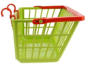 Kinderfietsmandje groen/rood