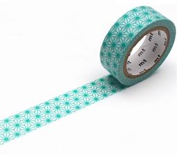 MT Masking tape asanoha hisui