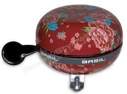 Basil Dingdong fietsbel bloom rood