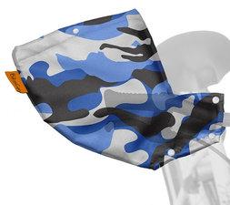 Handmoffen camouflage blauw