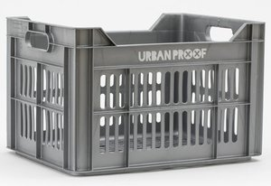 Urban Proof fietskrat Ash grijs