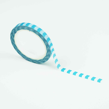 Studio Ins & Outs Masking tape SLIM Lichtblauwe pijltjes