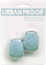 Urban Proof siliconen LED fietslampjes Vintage blue