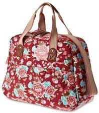 Afpakfietstas / carry all tas Basil bloom rood