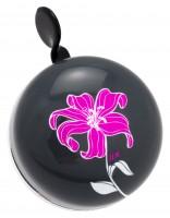 DingDong fietsbel bloem roze (6cm)