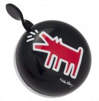 DingDong fietsbel Keith Haring hond (8cm)