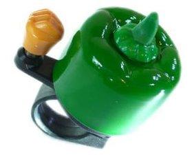 Fietsbel paprika groen
