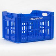 Urban Proof fietskrat blauw